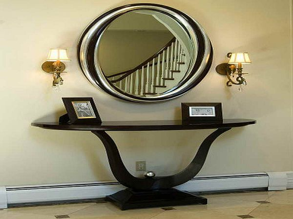 Entryway-Tables-and-Mirrors-with-nice-shape