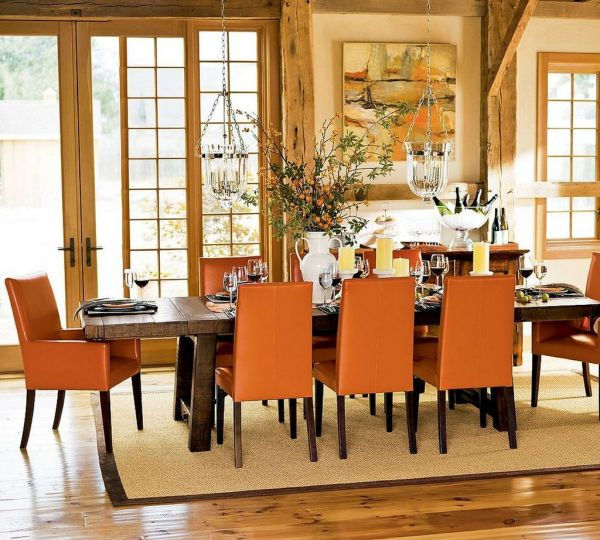 pretty-retro-country-dining-room-decorating-ideas