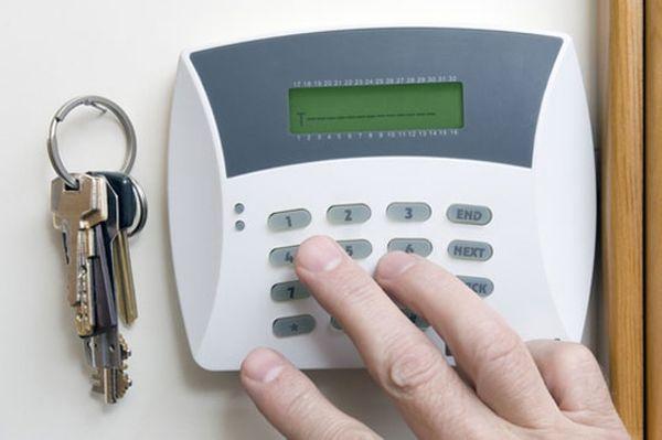 Fit a burglar alarm