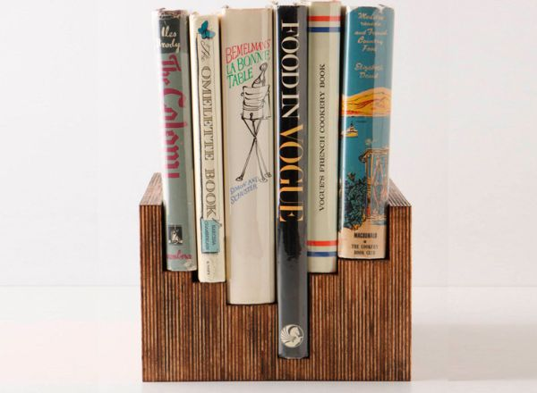 Stained Plywood Book Display