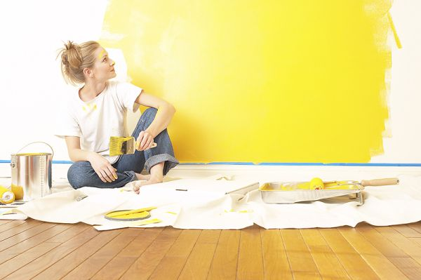 Coloring the home
