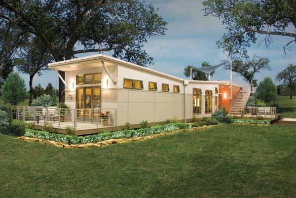 Eco-friendly kit homes