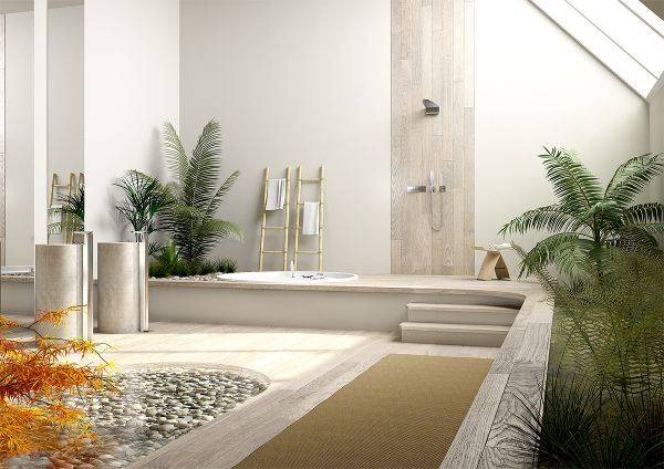 Feng Shui bathroom ideas