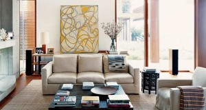 Feng Shui elements in living room