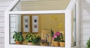 Garden window frames