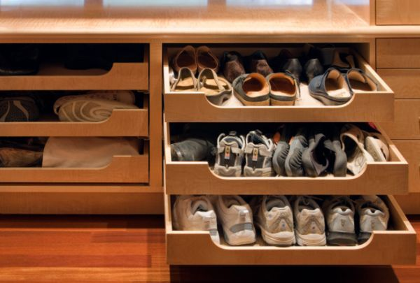 Slide in drawers