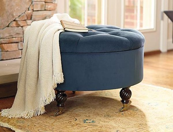 The colette tufted ottoman