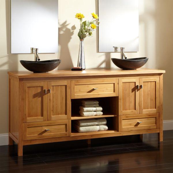 bamboo bathroom cabinets_2