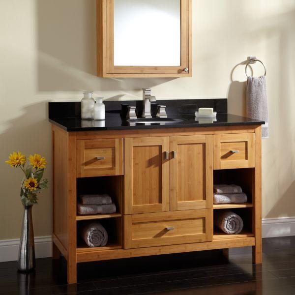 bamboo bathroom cabinets_3