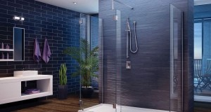 installing a glass shower