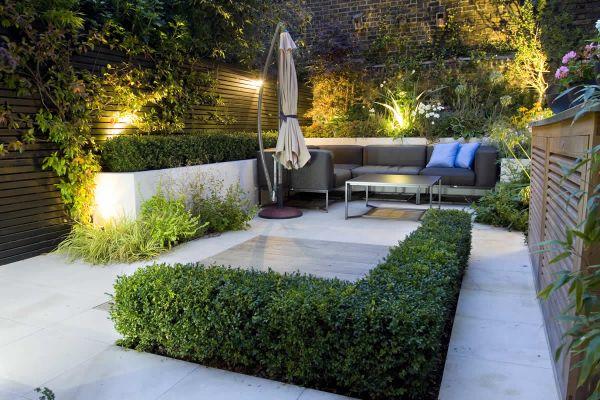 outdoor garden room