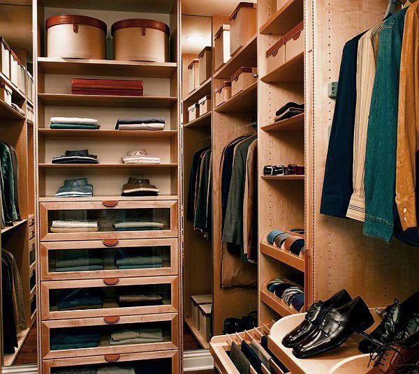shoe inside the wardrobe