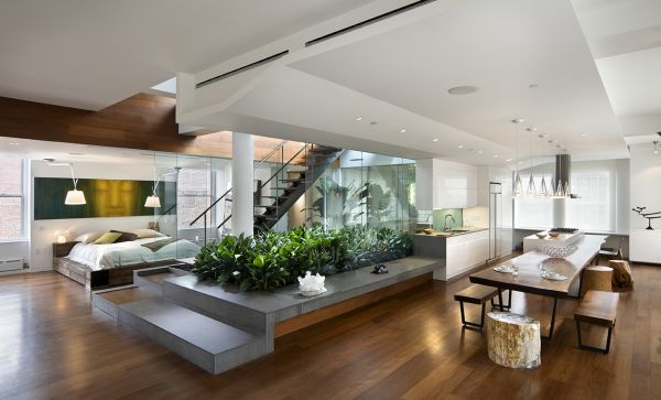 stress reducing interiors_Green plants