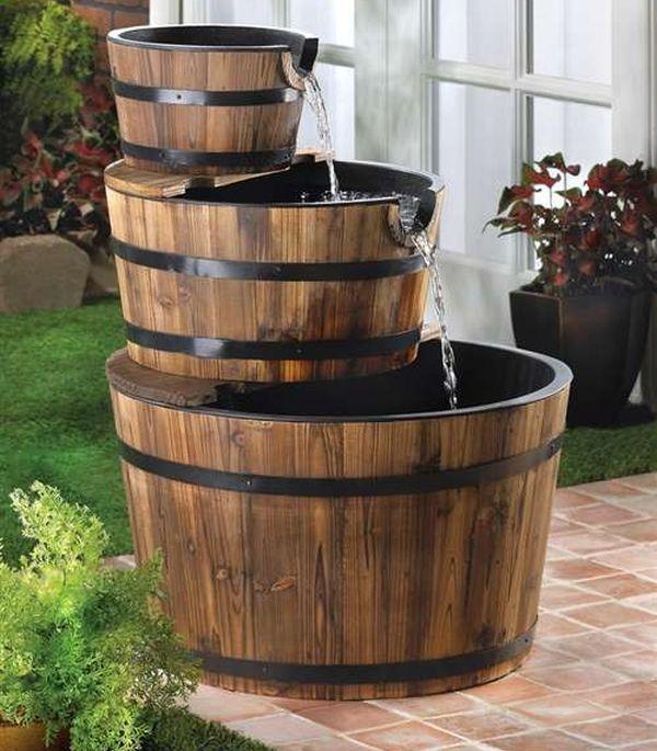 Barrel Fountains