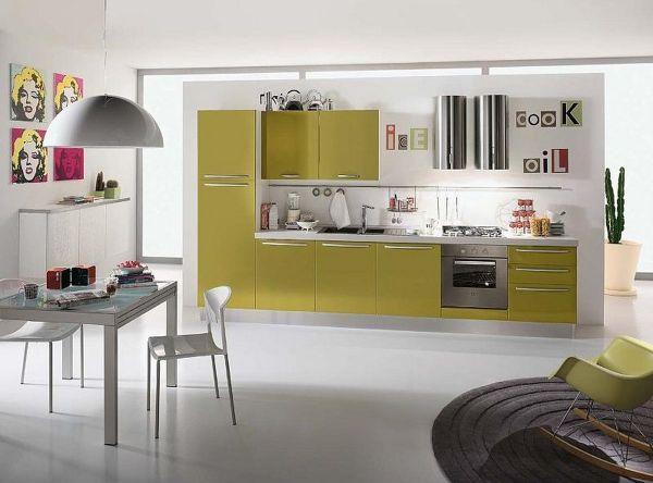 Contemporary kitchen interior designs