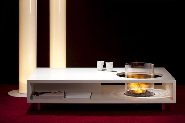 Fire Long Coffee Table