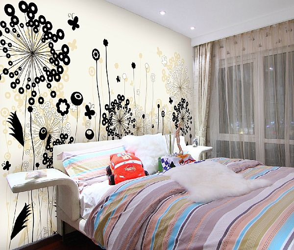 Floral on the walls