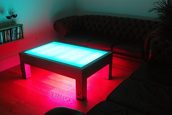 Illuminating Coffee Table from Suck UK