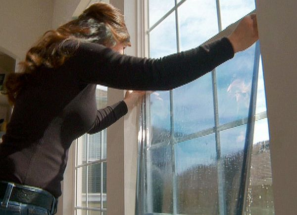 Install energy saving windows