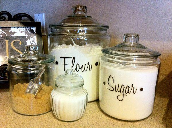 Label the jars