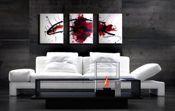Magic By Ozzio Design.Modern Coffee Tables With Fireplace To Add Warmth To Your Home