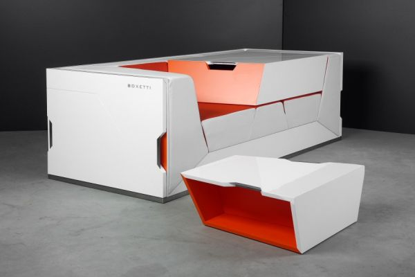 Lounge in a Box by Boxetti