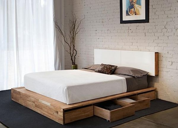 MANDAL Bed with Storage