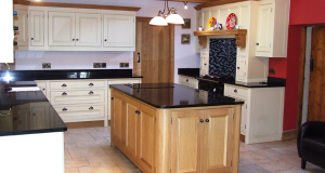 Oak and painted kitchen_3