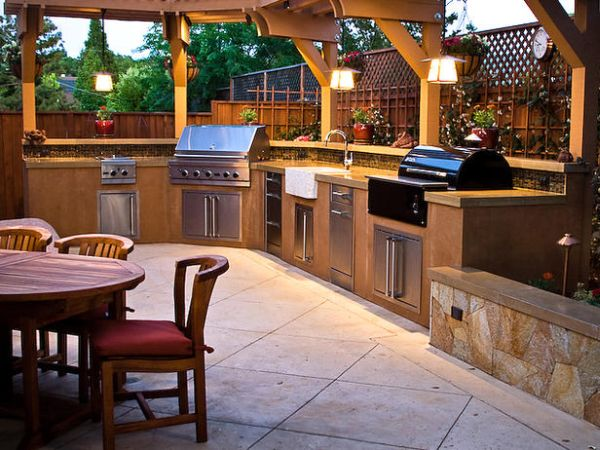 Simple tips to plan your outdoor summer kitchen hometone - Outdoor summer kitchen ideas ...