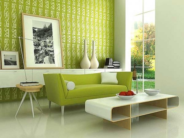 Paint your walls green