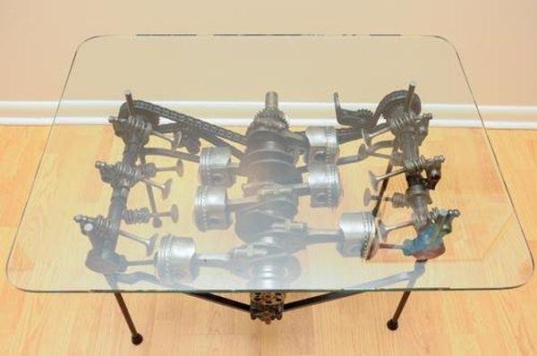 Porsche 911 Engine Internals Table