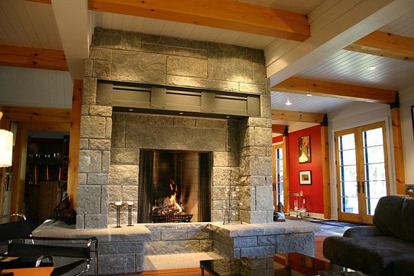 Old features that still inspire many modern homes for Rumford fireplaces