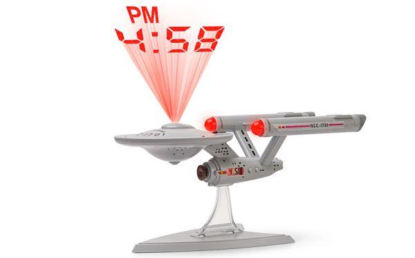Star Trek Projection clock