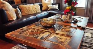 Stylish Coffee Table made form Old Door