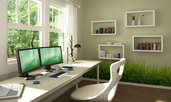 How To Design Your Home Office In A Sustainable Manner Hometone Home Automation And Smart Home Guide