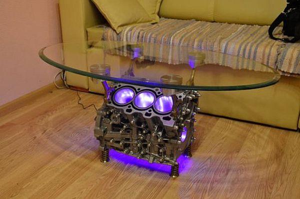 Top Gear Engine Coffee Table