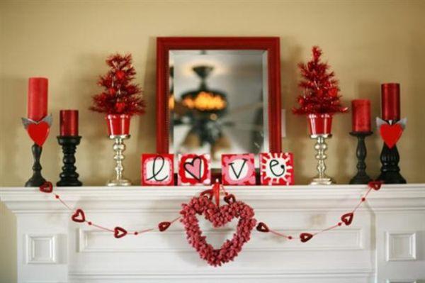 Valentines Day Bedroom Decoration_5