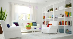 White Color Rooms decoration