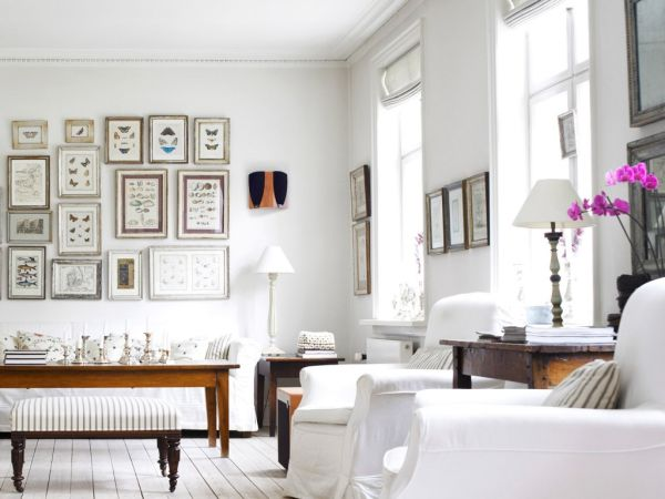White Color Rooms decoration_1