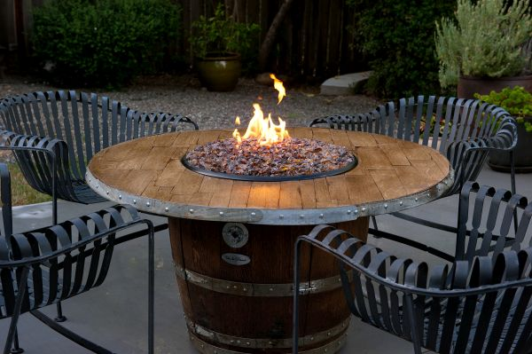 Recycled Barrel Furniture To Give A Classy Touch To Your Home
