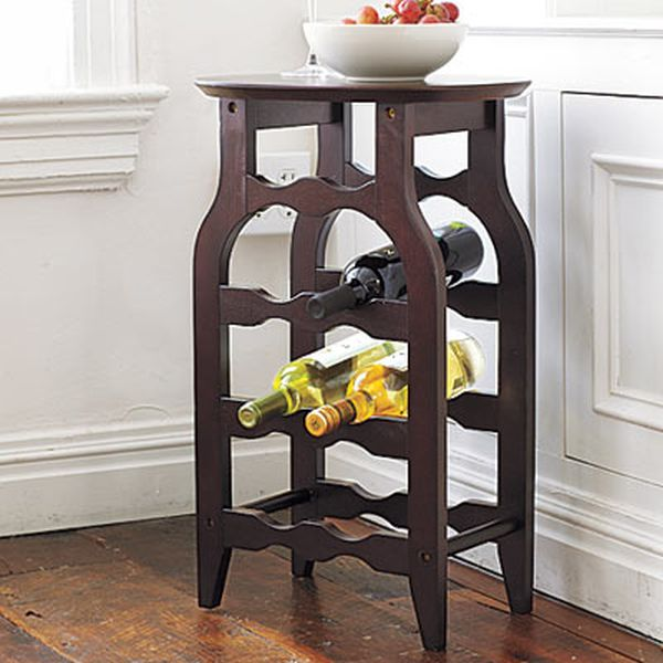 Wine-Rack Table from Winsome Wood