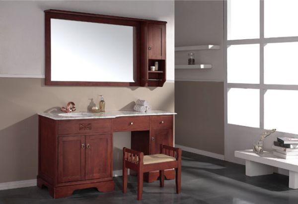 wooden bathroom cabinet_4