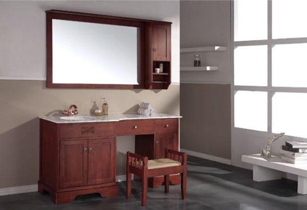 wooden bathroom cabinet_4