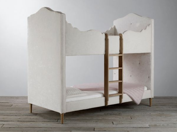 Bed with Upholstered Finish
