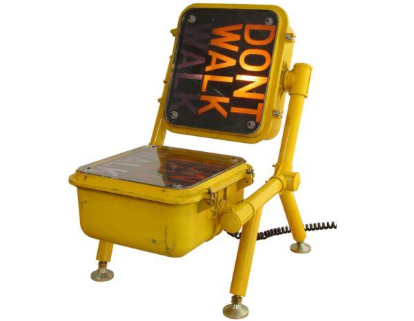Walk-Don't Walk Chair