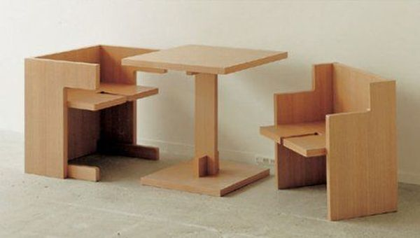 Cube Style Dining Room Set