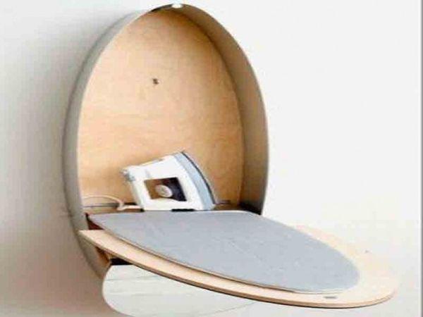 Mirror Ironing Board Closet_!