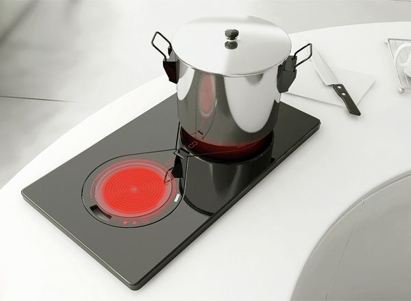 The 'Two Any One' Induction Cooker