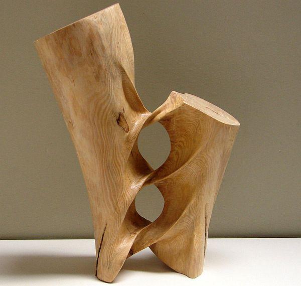 Enticing Pine Wood Sculptures by Xavier Puente Vilardell