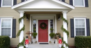 Home Door Decor  for Christmas (1)